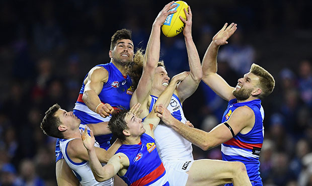 AFL 2018 Round 14 - Western Bulldogs v North Melbourne