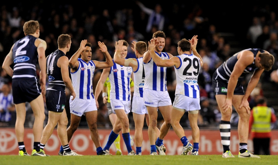 AFL NORTH MELBOURNE GEELONG